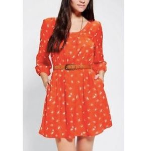 Urban Outfitters Cooperative Patterned Dress